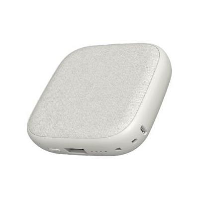 Внешний аккумулятор с поддержкой беспроводной зарядки Xiaomi SOLOVE W5 (White) фото