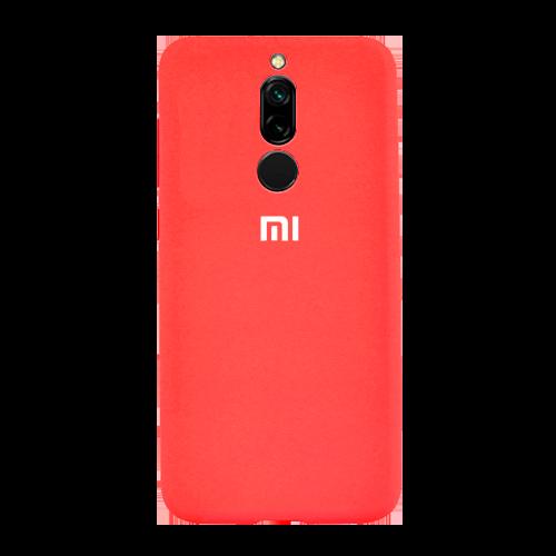 Накладка Silicone Case для Xiaomi Redmi 8 (Красный) фото