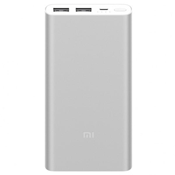 Внешний аккумулятор Xiaomi Mi Powerbank-2s 2USB 10000 Silver (VXN4228CN) фото