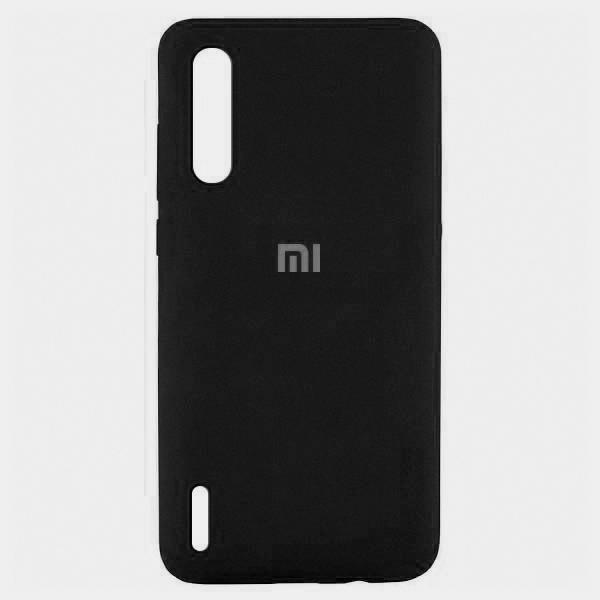 Накладка Silicone Case для Xiaomi Mi 9 Lite (Черный) фото