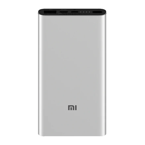 Внешний аккумулятор Xiaomi Power Bank 3 10000 mAh Silver фото