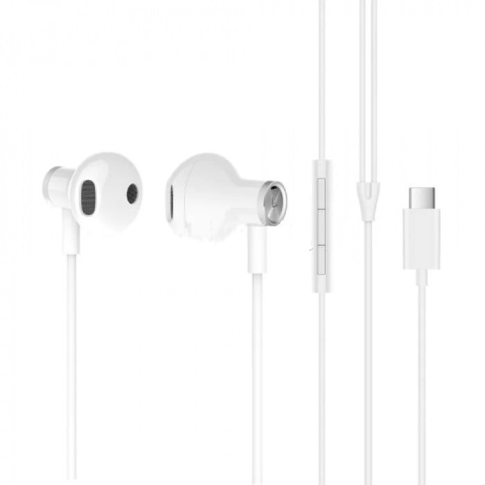 Наушники Xiaomi Dual-Unit Half-Ear Type-C (White) BRE02JY фото