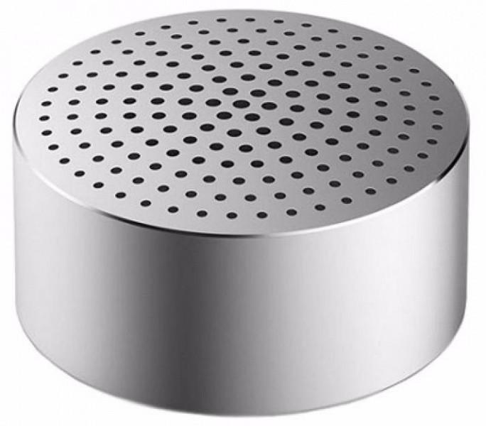 Портативная колонка Xiaomi Bluetooth Mi Portable Round Box Silver фото