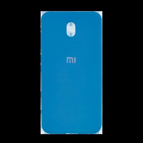 Накладка Silicone Case для Xiaomi Redmi 8A (Светло-синий) фото