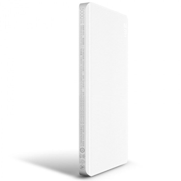 Внешний аккумулятор Power Bank Xiaomi ZMI QB805 5000mAh (White) фото