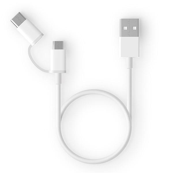 Кабель Xiaomi micro Usb и Type-C cable 100 см (AL501) фото