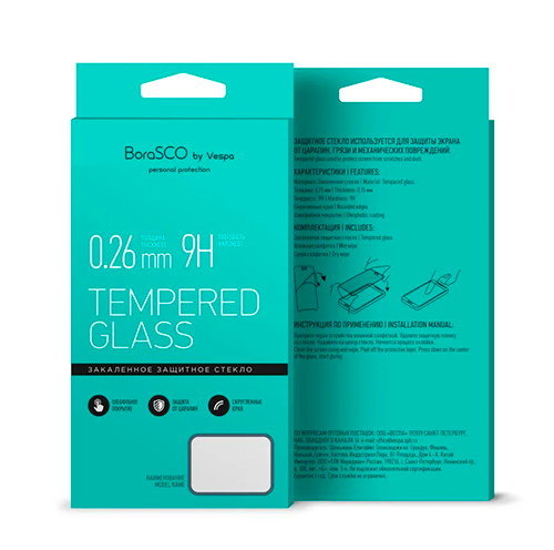 Закаленное стекло 0,26 мм BoraSCO Xiaomi Mi 9 Lite фото