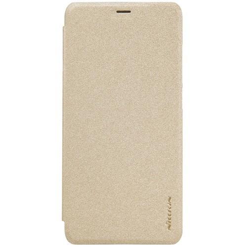Книжка Nillkin Sparkle Leather Case Xiaomi Redmi 7 Gold фото