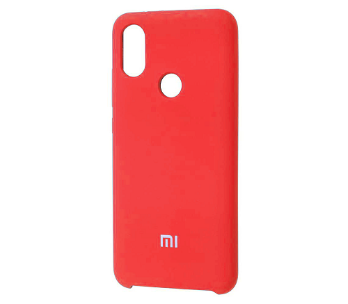Накладка Silicone Case для Xiaomi Mi 9 (Красный) фото
