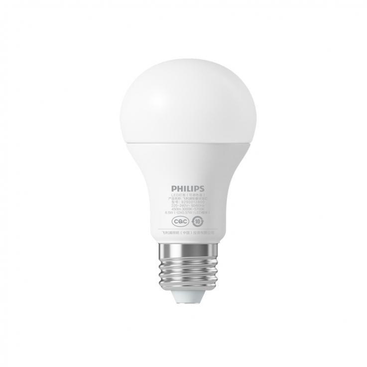 Умная Wi-Fi лампочка Philips smart bulb - White фото
