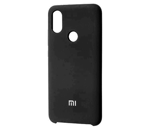 Накладка Silicone Case для Xiaomi Mi 9 (Черный) фото