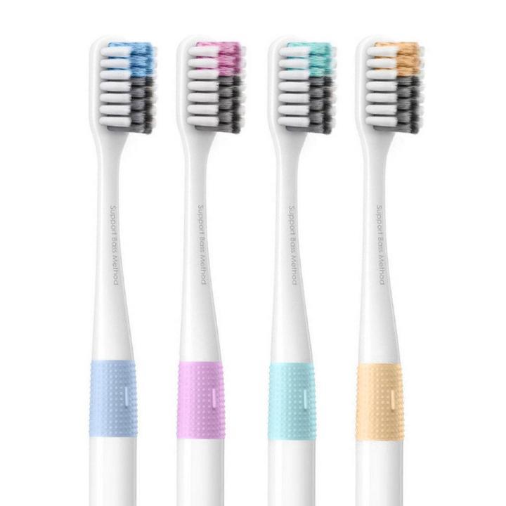 Набор зубных щеток Xiaomi (комплект 4 шт) фото