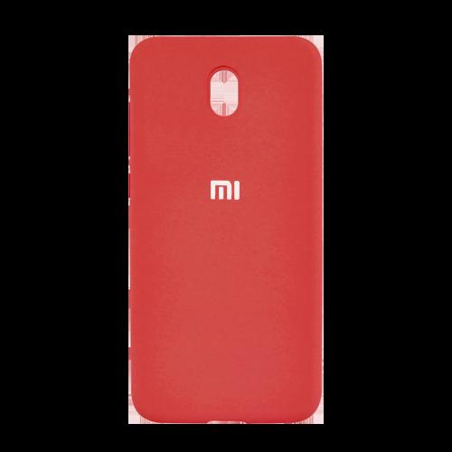 Накладка Silicone Case для Xiaomi Redmi 8A (Красный) фото