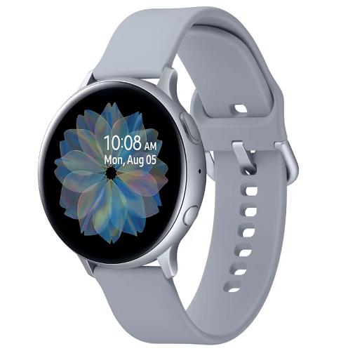 Смарт-часы Samsung Galaxy Watch Active2 44мм Super Amoled Серебристый фото