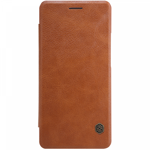 Книжка Nillkin Qin Leather Xiaomi Redmi Note 8 Pro Brown фото