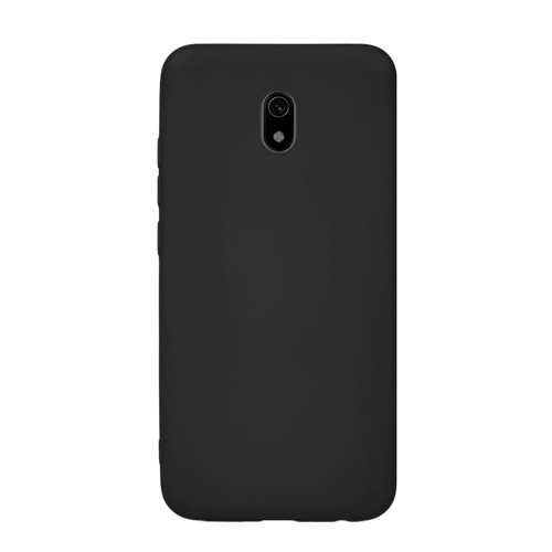 Накладка Silicone Case для Xiaomi Redmi 8A (Черный) фото