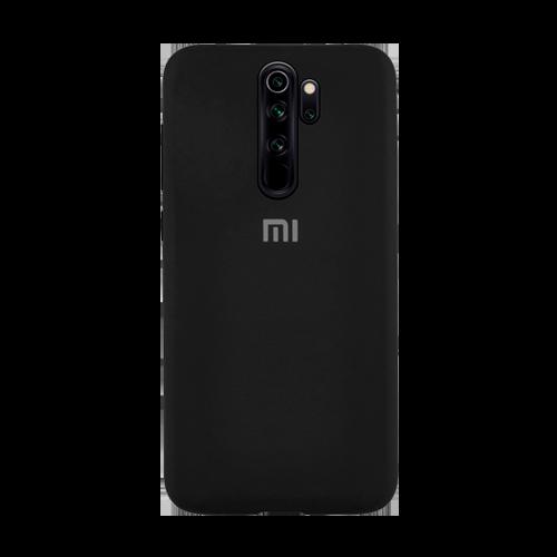 Накладка Silicone Case для Xiaomi Redmi Note 8 Pro (Черный) фото