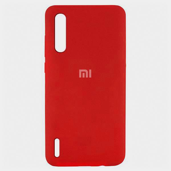 Накладка Silicone Case для Xiaomi Mi 9 Lite (Красный) фото