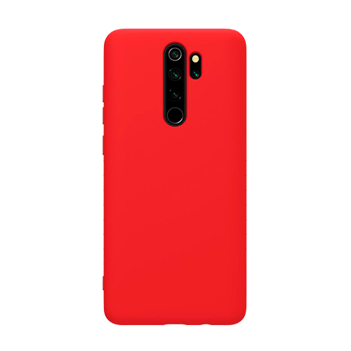 Накладка Silicone Case для Xiaomi Redmi Note 8 Pro (Красный) фото