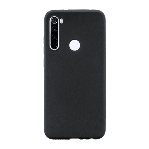 Накладка Silicone Case для Xiaomi Redmi Note 8T (Черный) фото
