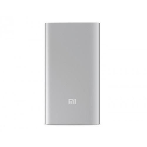 Внешний аккумулятор Xiaomi Mi Power Bank 5000 mAh - Silver фото