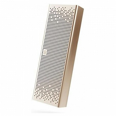 Портативная колонка Xiaomi Mi Bluetooth Speaker Pocket Aluminium Gold
