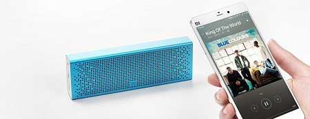 Портативная колонка Xiaomi Mi Bluetooth Speaker Pocket Aluminium Blue