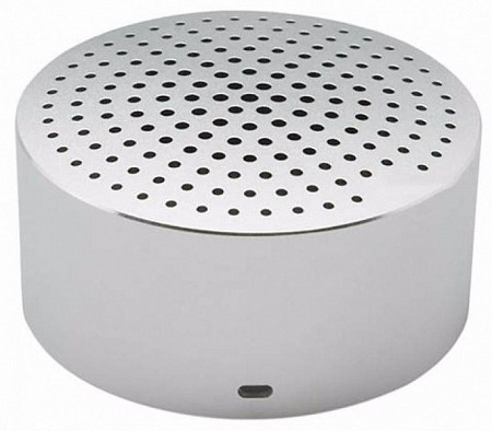 Портативная колонка Xiaomi Bluetooth Mi Portable Round Box Silver